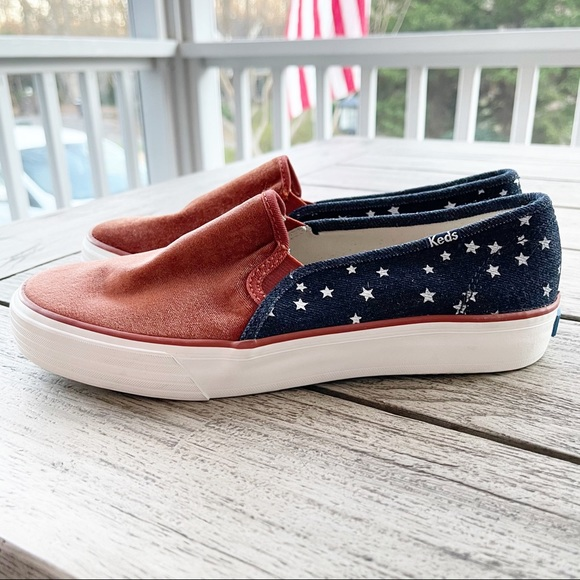 Keds RARE Double Decker Sneakers Size 7